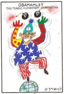obama payaso