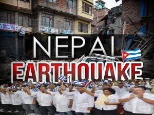 cuba ayuda nepal