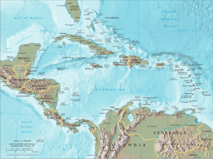 CIA_map_Central_America_&_Caribbean