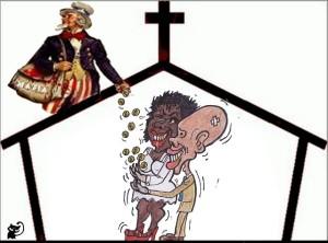 contra iglesia
