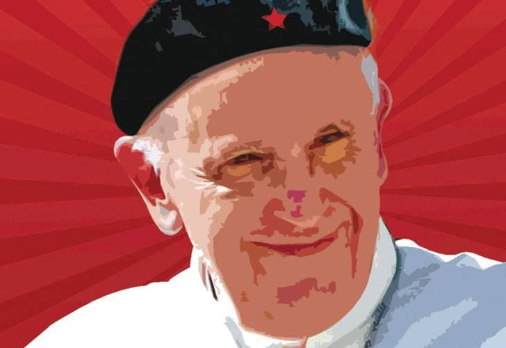 Risultati immagini per papa francisco che guevara