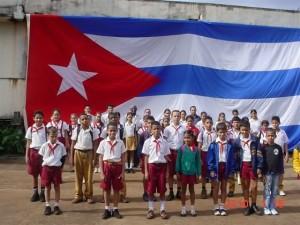 scuola cuba bandiera