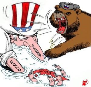 blocco orso russo