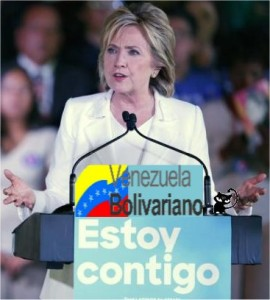 hillary clinton venezuela
