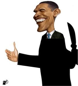 obama knife cuba