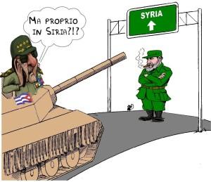 raul castro tank in syria