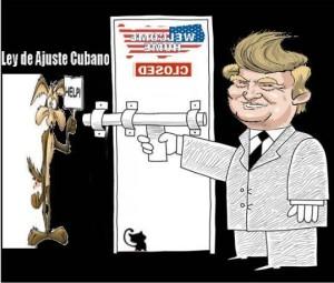 cuban border USA trampa