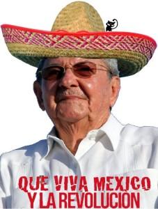 raul castro mexico