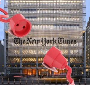 NYT desconectado