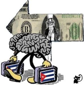 fuga cerebro cubanos