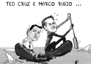 ted cruz marco rubio affondano