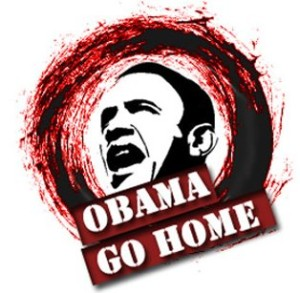 obama go home now
