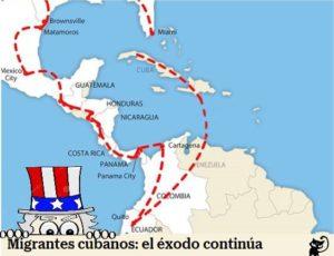 migrantes cubanos y ley de ajuste