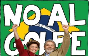 no al golpe brasil