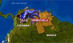 venezuela mano yankee