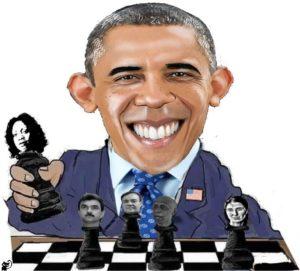 contra obama ajadrez
