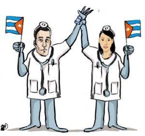 ddhh medicos cubani