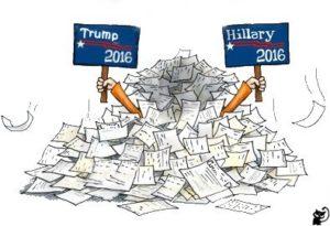 hillary-trump 2016