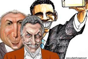 Obama macri temer