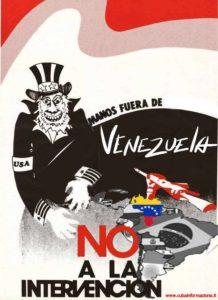 venezuela manos gringas