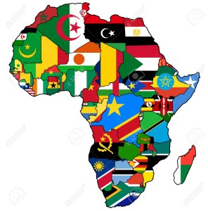 20531732-attuale-mappa-politica-d-africa-con-bandiere-e-simboli-nazionali-Archivio-Fotografico