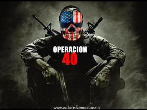 operacion 40