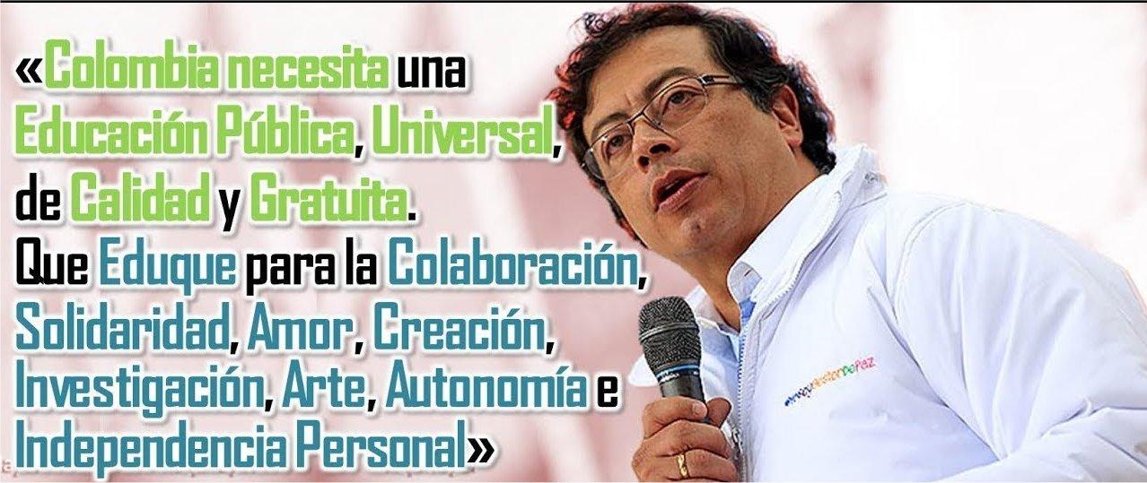 Risultati immagini per campagna electoral colombia